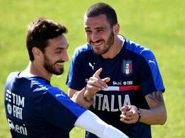 'You have gone to play football up there' - Bonucci pays tribute to Astori