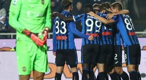 L'Atalanta supera il Verona. Goal