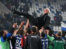 Atalanta book UCL spot, Empoli down