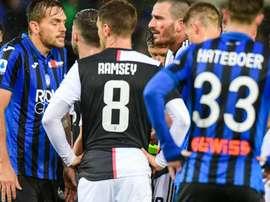 Polemiche durante Atalanta-Juventus.