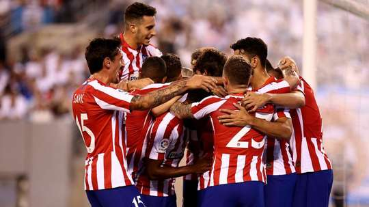 Simeone staying grounded after Atletico's 7-3 win over Real Madrid