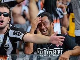 Atlético x Cruzeiro: zoeira com letra B proibida revolta torcidas. Goal