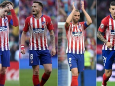 A mass exodus in Atletico Madrid. GOAL