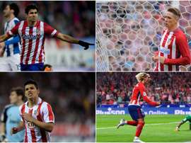 Atletico Madrid have a history of fine forwards. GOAL