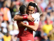 Aubameyang urges Emery to capitalise on his 'spark' with Lacazette