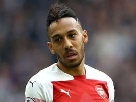 Aubameyang saw his penalty saved by Lloris late on. GOAL