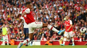 Aubameyang reckons Arsenal deserved to win the North London derby. GOAL