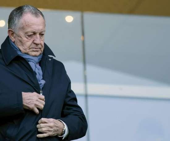 Le président de Valenciennes en soutien de Jean-Michel Aulas. GOAL