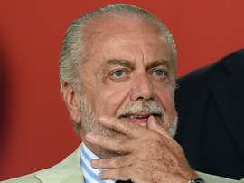 Aurelio De Laurentiis, président de Naples. GOAL