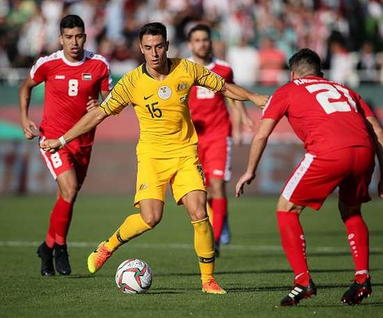 Un bon match pour l'Australie. AFP
