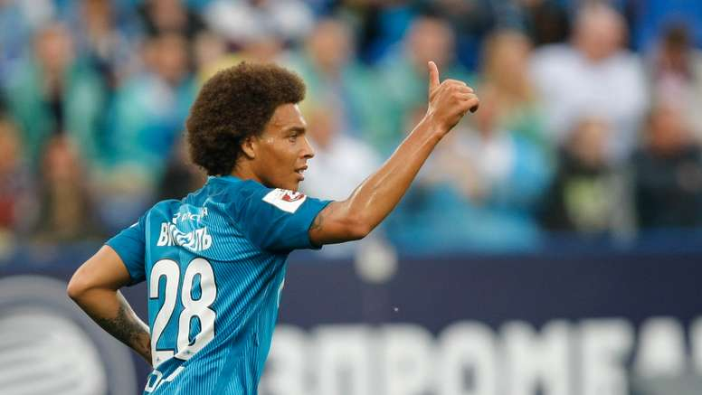 Witsel in action for Zenit. Goal