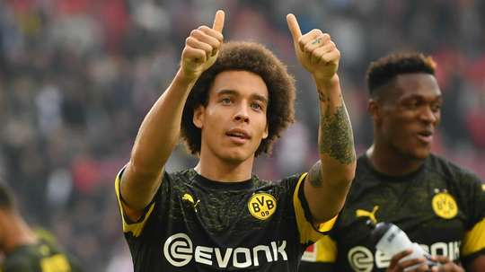 Axel Witsel joined Borussia Dortmund from Zenit St Petersburg. GOAL
