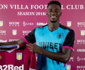 Tuanzebe joins 'Villa' for his second loan spell. GOAL