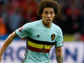 Axel Witsel explains his decision. Goal