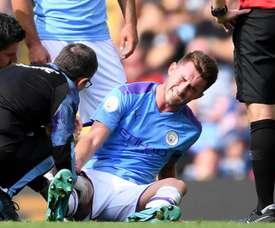 Man City confirm Laporte surgery. GOAL