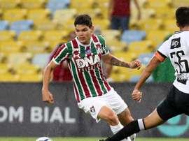 Ayrton Lucas Fluminense. Goal
