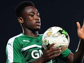 Baba Rahman suffered a knee injury in the win over Uganda. Goal