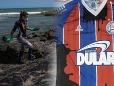 Bahia faz camisa para protestar contra desastre no Nordeste. Goal
