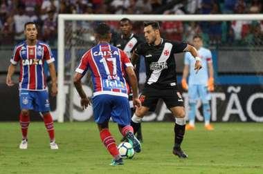 Bahia vs Vasco. Goal