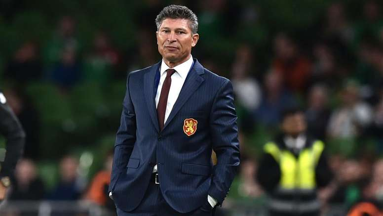 Bulgarian coach Balakov has apologised after racist chanting from fans. GOAL
