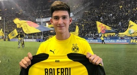 Balerdi completed his move to the Bundesliga this week. GOAL