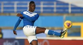 L'attaccante del Brescia Balotelli. Goal