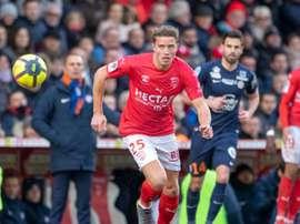 Baptiste Guillaume va être prêté à Valenciennes, signature lundi. AFP