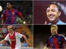 De Jong is joining a long line of Dutchmen at the Camp Nou. GOAL