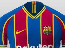 Svelata la nuova maglia dal Barcellona. GOAL