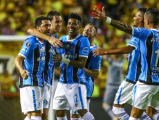 Gremistas celebram vaga na final da Libertadores. Goal