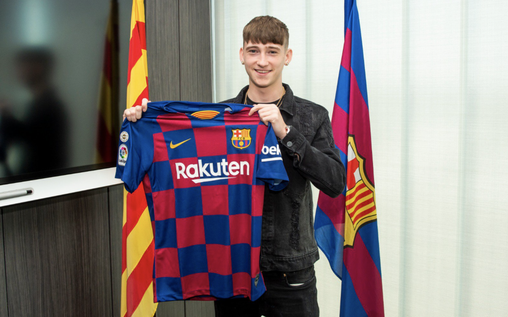 Louie Barry signe au Barça — Officiel
