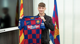 Louie Barry rejoint le FC Barcelone. FCBarcelona