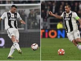 Barzagli e Chiellini in cattedra. Goal