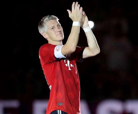 Former Bayern player Schweinsteiger announces retirement. GOAL