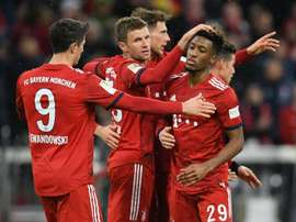 Bayern are in a title race with Borussia Dortmund. GOAL