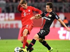 Bayer Leverkusen x Bayern de Munique. Goal