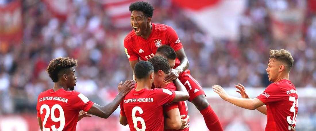 Festival offensif du Bayern. Goal
