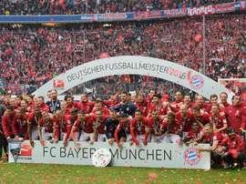 Bayern Munich Bundesliga trophy. Goal