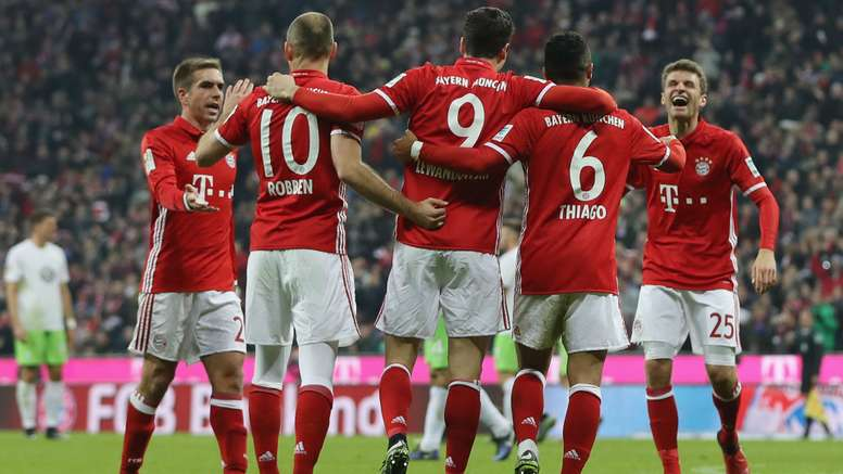 Bayern Munich have returned to the top. Goal