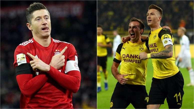 save off e3741 49992 Bayern Munich v Borussia Dortmund: Who will win the ...