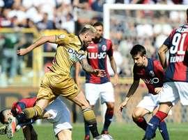 Il Bologna vince in rimonta. Goal