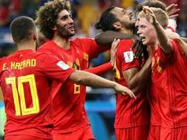 La Belgique passe aux forceps. Goal