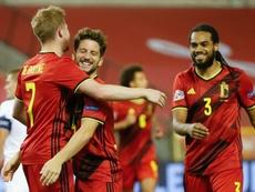 Belgium thrashed Iceland 5-1 despite conceding an early goal. GOAL