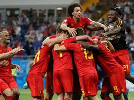 Fellaini and Chadli were handed starts for Belgium. GOAL