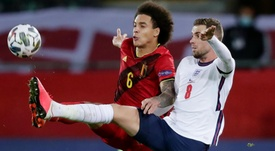 Gareth Southgate was pleased with his team despite losing to Belgium. GOAL