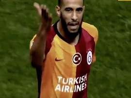 Il centrocampista offensivo del Galatasaray Belhanda. EFE