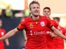 Ben Halloran gave Adelaide United the win over Melbourne Victory. GOAL