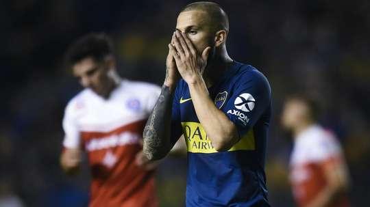 Benedetto Boca Argentinos Copa Superliga. Goal