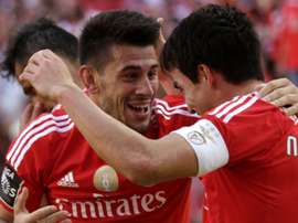 Le joueur du Benfica, Nico Gaitán Pizzi. AFP