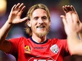 Adelaide United saw off Brisbane Roar. GOAL